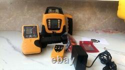 Grading Laser Level With Remote Control Full Set UK Calibration Certeficate New