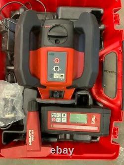 HILTI PR 30-HVS Rotating Laser Level with PRA 30 Remote Control Receiver & PRA83
