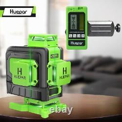 Huepar 16 lines 4D Cross Line Laser Level Multifunction&Remote Control+Receiver