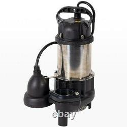 ION 3/4 HP Cast Iron Stainless Steel Sump Pump with Digital Level Control HP20159