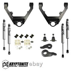 Kryptonite 2 Leveling Kit Control Arms Fox Shocks For 99-06 Chevrolet GMC 1500