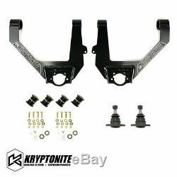 Kryptonite Upper Control Arm Kit For 2014-2018 Chevy/GMC 6 Lug Half Ton Trucks