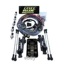 Level Ride 3/8 Manifold 3 Height + Pressure Airmaxxx Black 580 Air Management