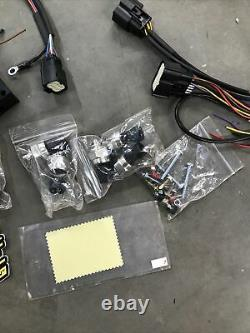 Level Ride Air Suspension Height & Pressure ECU Controller Kit Manifold
