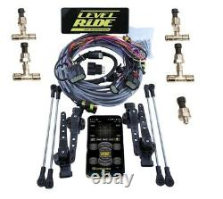Level Ride Air Suspension Height and Pressure 480 Compressors Evolve Manifold