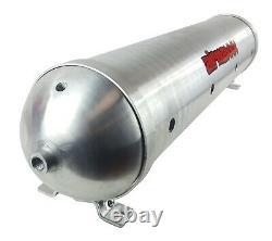 Level Ride Pressure withairmaxxx Chrome 480 Air Management Kit Complete Spun Tank