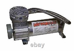 Level Tow Assist in Cab Air Control Digital Gauge Compressor Tank & 1/4 Valves