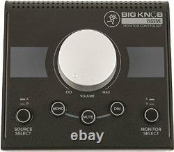 MACKIE level control & sound source/ monitor speaker controller Big Knob Passive