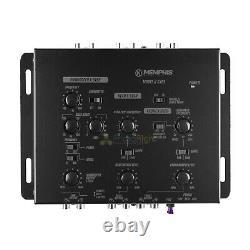 Memphis Audio 3 Way Electronic Crossover w Remote Level Control CX23 Processor