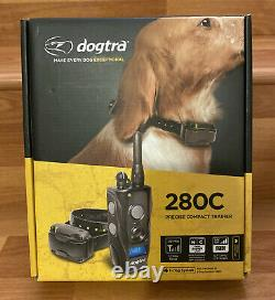 New Dogtra 280C Precise Control 127-Level Training Dog E-Collar