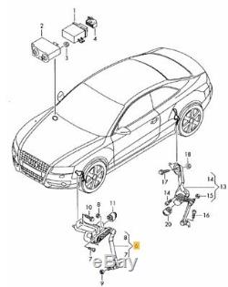 New Genuine Audi A4 09-16 A5 08-16 Headlight Range Control Level Sensor Front