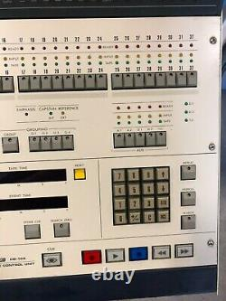 Otari CB-122 Remote Control Unit with CB-761 Level Display Unit