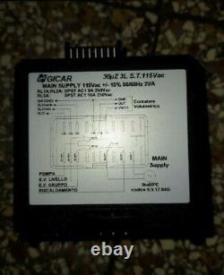PASQUINI LIVIA 90 & BEZZERA LEVEL CONTROL BOX automatico GICAR GENUINE PARTS