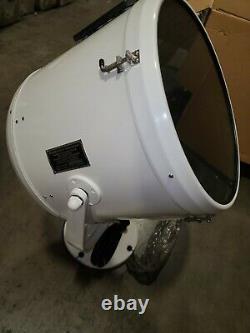 Perko 1902004WHT Solar-Ray 19 Searchlight Head WITH Level/Gear Control