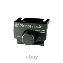 Planet Audio AC1200.2 2-Channel 1000W Car Amplifier with Remote Level Control