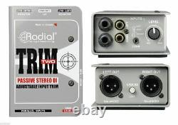 Radial Engineering Trim-Two Stereo DI with Level Control DI Direct Box