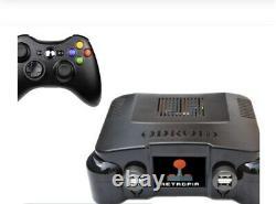 Retropia console Level 3 Odroid XU4, LCD Case, 2 Controllers. Retro