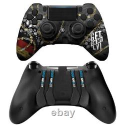Scuf Impact Montana Black 88 CUSTOM Get on My Level Warzone RARE Controller PS4