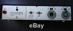 Shure Level Loc. RARE Vintage Limiter Compressor. Audio Level Controller M62