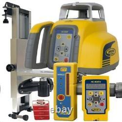 Spectra Laser Level HV302-2 HR150U Receiver & Remote Control