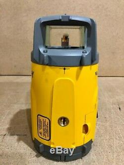Spectra Precision GL612N Rotary Grade Laser Level With Remote Control, Receiver