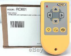 Spectra Precision RC601 Remote Control Laser Level HV101 HV301 LL100 LL300 LL400
