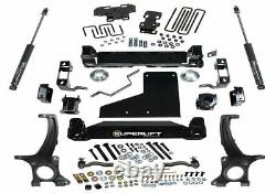 Superlift 6 Lift Kit With Rear Shocks For 2007-2020 Toyota Tundra