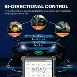 TOPDON OE-Level All System Diagnostic Scan Tool Bidirectional Control ECU Coding