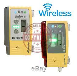 Topcon Ls-b10w + Rd100w Laser Receiver, Machine Control, Sensor, Detector, Trimble