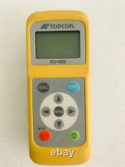 Topcon Rc-400 Remote Control For Rl-200 2s, Rotary Laser Level Remote For Rl-200