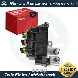 VW Touareg II Ventilblock Kompressor 7P0698014 Luftfederung