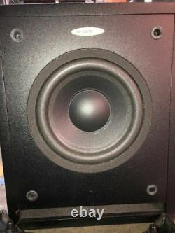 Velodyne Cht-8 130 Watts Powered Subwoofer Level & Crossover Controls