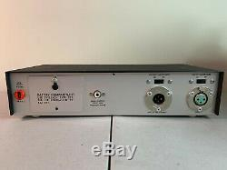 Vintage Shure M62V Level Loc Audio Level Controller Rare Preamplifier AS-IS