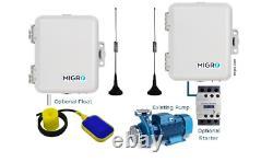 Wireless Pump Control Single Channel Long Range, Alarm, Tank Level Remote Radio