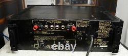 Yamaha power amplifier P2150. Rack mountable with R/L level controls