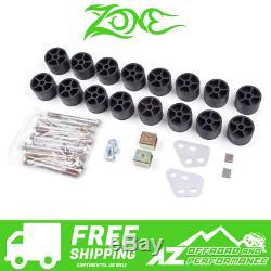 Zone Offroad 1.5 Body Lift Kit fits 07-13 Chevy GMC Silverado Sierra 1500 C9150