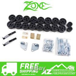 Zone Offroad 1.5 Body Lift Kit for 99-02 Chevy GMC Silverado Sierra 1500 C9154